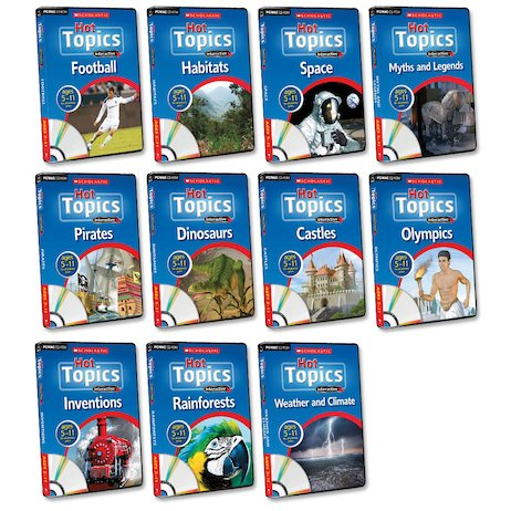Hot Topics Interactive Complete Pack x 11