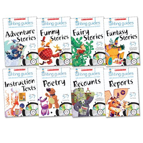 Writing Guides Complete Pack: Ages 5-7