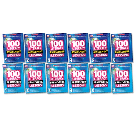 100 Literacy Lessons Super Easy-Buy Pack