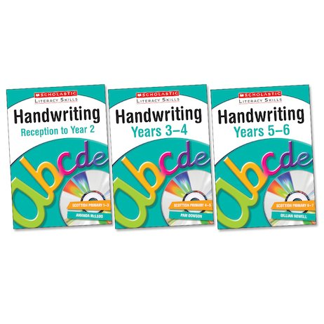 Scholastic Literacy Skills: Handwriting Set x 3