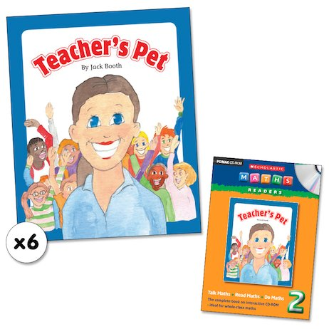 Maths Readers Year 2: Teacher's Pet x 6 plus CD-ROM