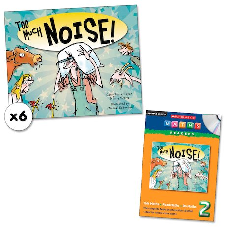 Maths Readers Year 2: Too Much Noise! x 6 plus CD-ROM