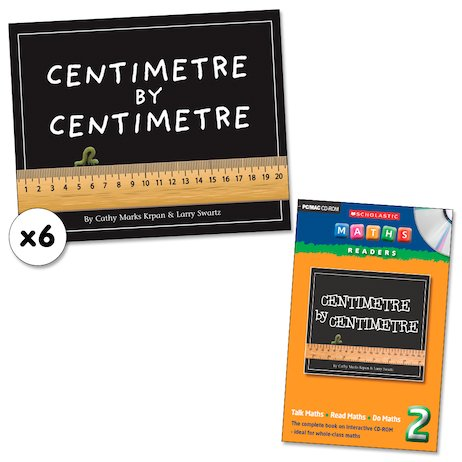 Maths Readers Year 2: Centimetre by Centimetre x 6 plus CD-ROM