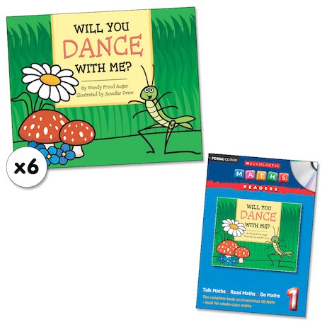 Maths Readers Year 1: Will You Dance With Me? x 6 plus CD-ROM