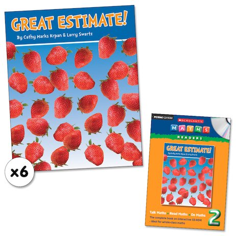 Maths Readers Year 2: Great Estimate! x 6 plus CD-ROM