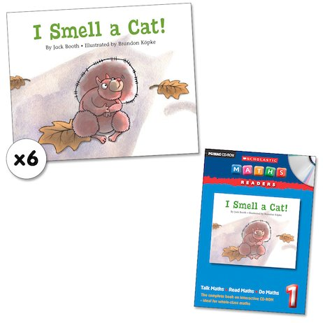 Maths Readers Year 1: I Smell a Cat! x 6 plus CD-ROM