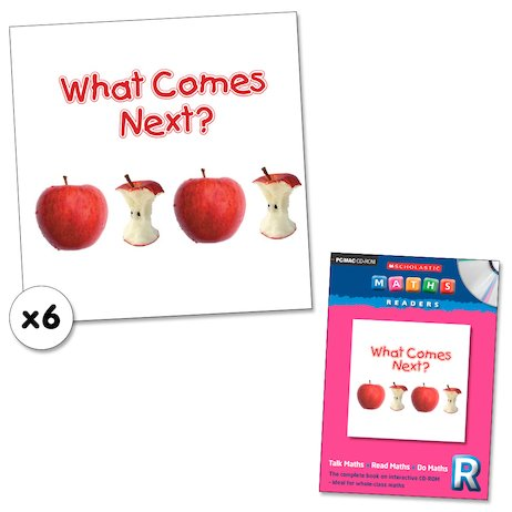 Maths Readers Reception: What Comes Next? x 6 plus CD-ROM
