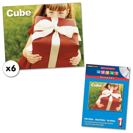 Maths Readers Year 1: Cube x 6 plus CD-ROM