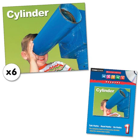 Maths Readers Year 1: Cylinder x 6 plus CD-ROM