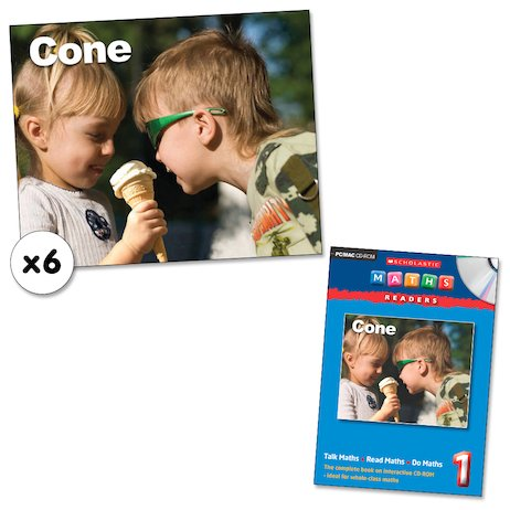 Maths Readers Year 1: Cone x 6 plus CD-ROM