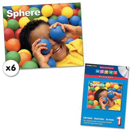 Maths Readers Year 1: Sphere x 6 plus CD-ROM