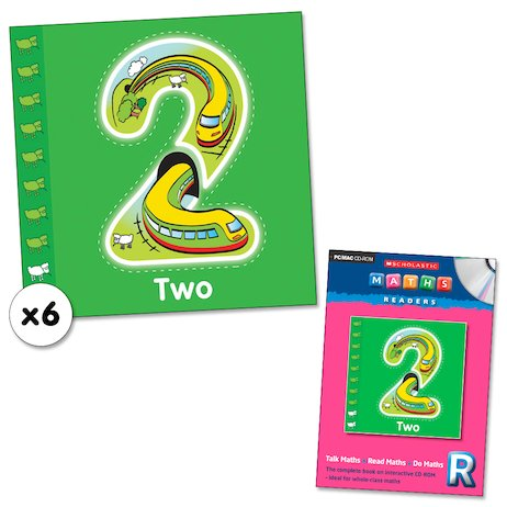 Maths Readers Reception: Two x 6 plus CD-ROM
