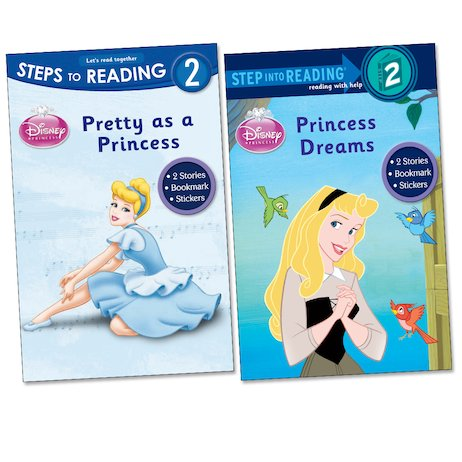Steps to Reading: Disney Princess Pack