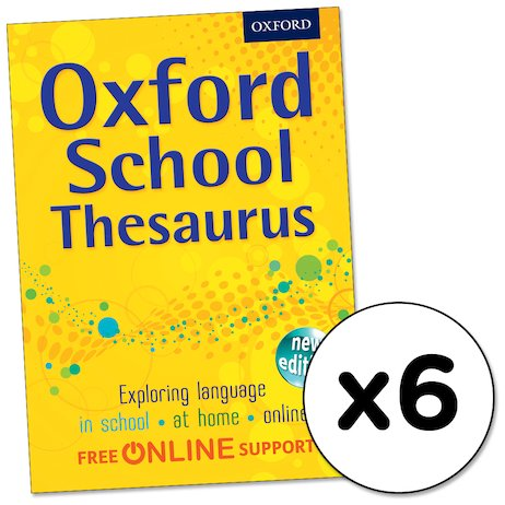 Oxford School Thesaurus x 6