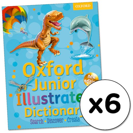 Oxford Junior Illustrated Dictionary x 6