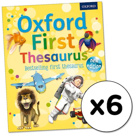 Oxford First Thesaurus x 6