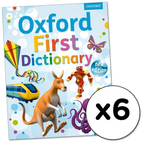Oxford First Dictionary x 6