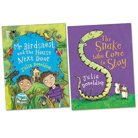 Barrington Stoke Little Gems: Julia Donaldson Pair
