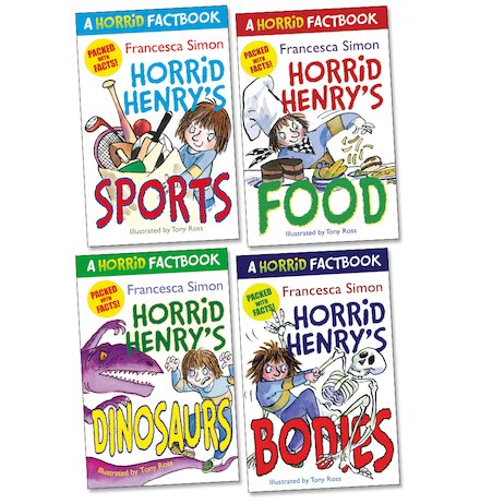 Horrid Henry Factbooks Pack