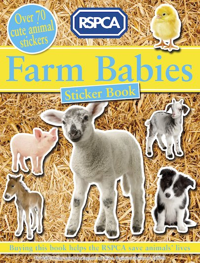 Farm Babies Sticker Book