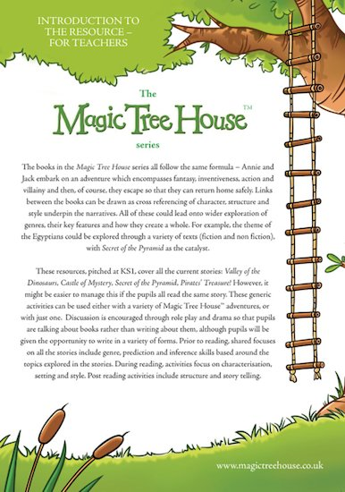 Magic Tree House Teachers' Resources