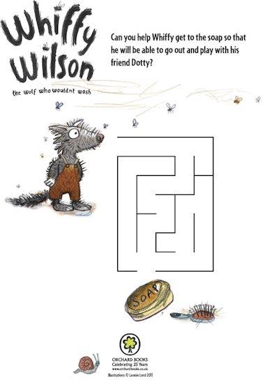 Whiffy Wilson Activity Pack
