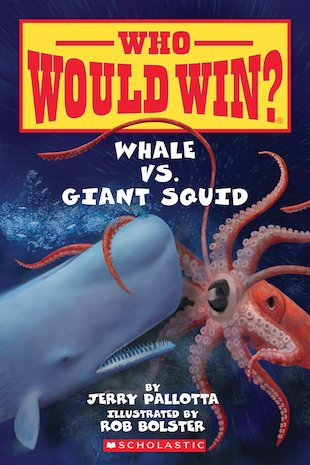 Who Would Win? Whale vs. Giant Squid