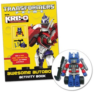 Transformers Prime Kre-O: Awesome Autobots Activity Book