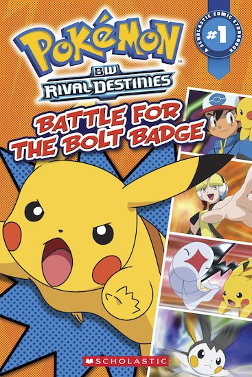 Pokémon Comic Reader: Battle for the Bolt Badge