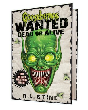 Goosebumps Wanted Dead or Alive: The Haunted Mask