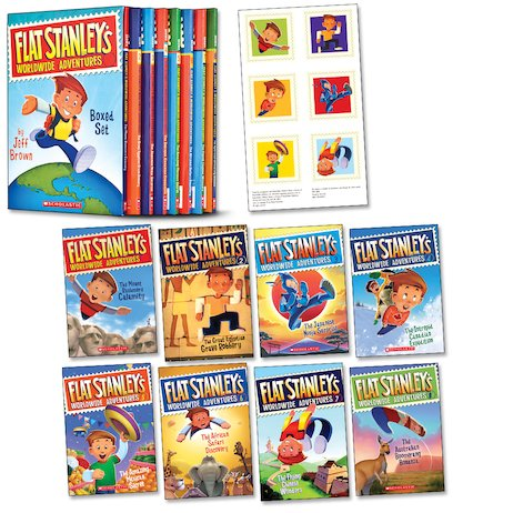 Flat Stanley's Worldwide Adventures Boxed Set