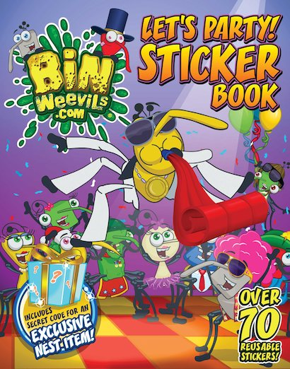 Bin Weevils: Let's Party! Sticker Book