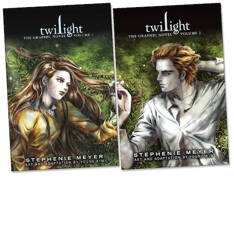 Twilight Graphic Novels Pair