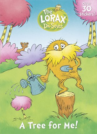 The Lorax: A Tree for Me! Sticker Activity Book