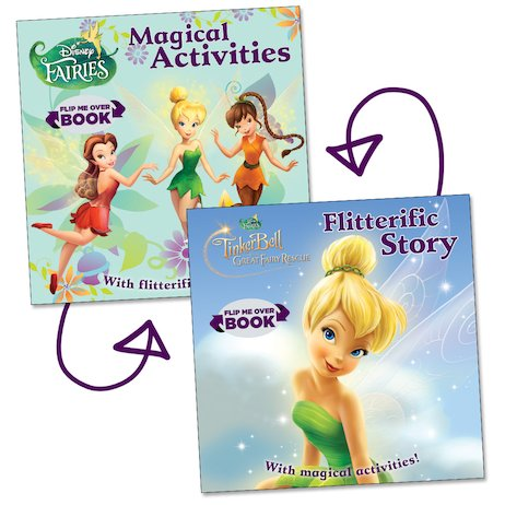 Tinker Bell and the Great Fairy Rescue: Story and Activity Flip Book