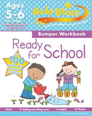 Gold Stars: Ready for School Bumper Workbook (Ages 5-6)