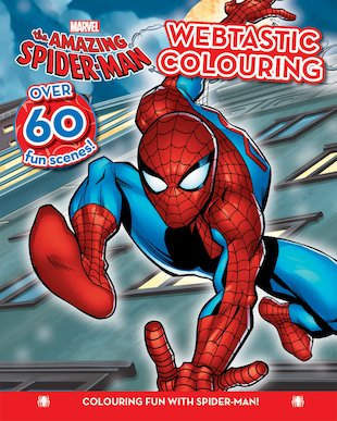 The Amazing Spider-Man: Webtastic Colouring