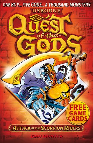 Quest of the Gods: Attack of the Scorpion Riders