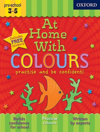 At Home With Colours: Ages 3-5