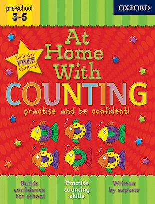 At Home With Counting: Ages 3-5