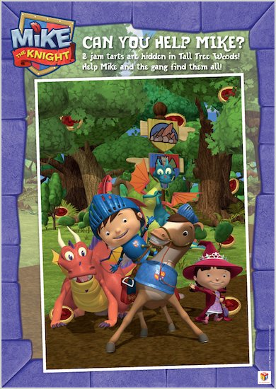 Mike the Knight Jam Tart Puzzle