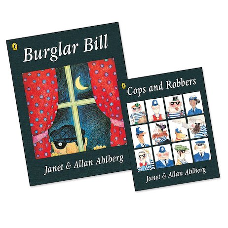 Burglar Bill with FREE Cops and Robbers Mini Edition