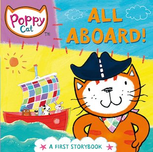 Poppy Cat: All Aboard!