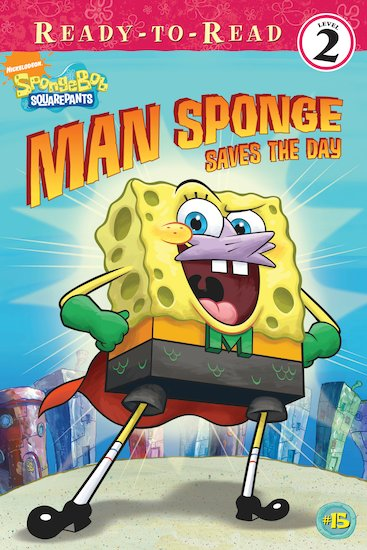 SpongeBob: Man Sponge Saves the Day