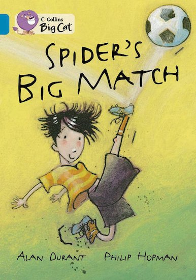 Spider's Big Match (Book Band Topaz)
