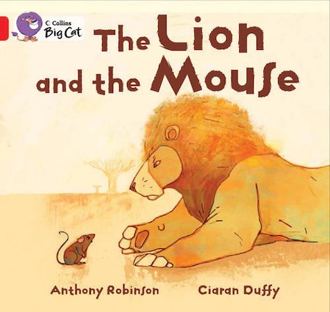 The Lion and the Mouse (Book Band Red)