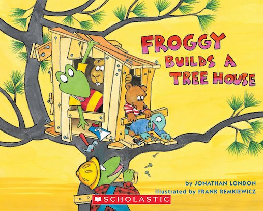 Froggy Builds a Tree House
