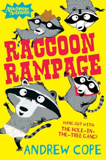 Awesome Animals: Raccoon Rampage