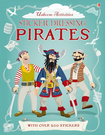 Sticker Dressing: Pirates