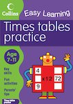 Collins Easy Learning: Times Tables Practice (Ages 7-11)